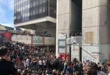 étudiants tolbiac grève