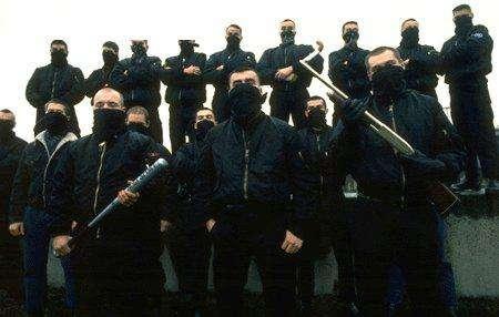 Les JNR dans les années 90. Photo : La Horde