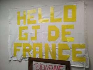 Gilets Jaunes de France, à Saint Nazaire