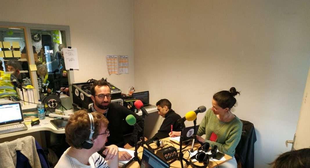 Plateau Radio Gilets Jaunes à Saint Nazaire