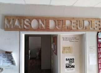 Une Maison du Peuple construite par les Gilets Jaunes de Marseille.