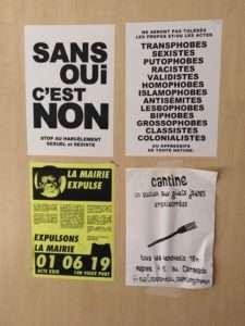 Maison du Peuple des Gilets Jaunes de Marseille.