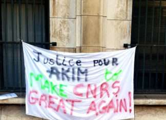 Justice pour Akim to make CNRS great again