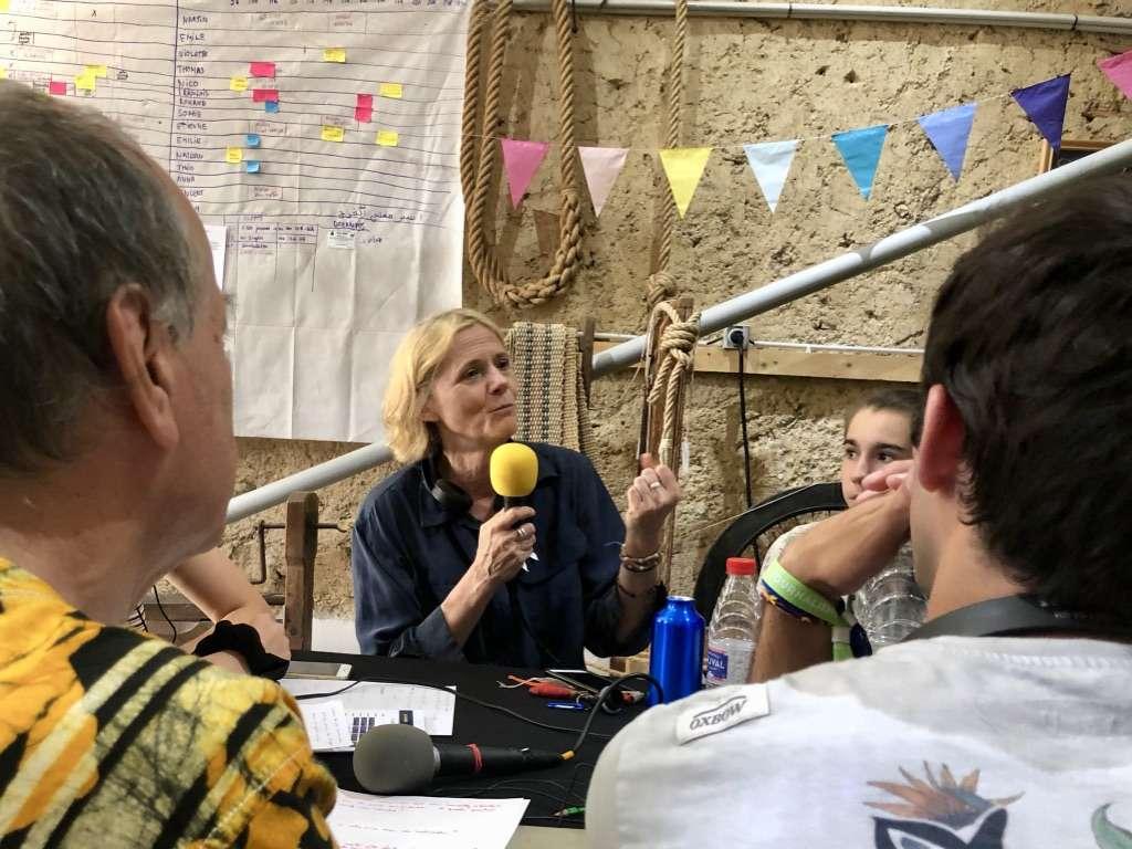 Florence Aubenas Couthures-sur-Garonne festival journalisme