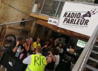 """Emission avec les Gilets Jaunes de Marmande sur """"Couthures sur Radio"""" . Radio FM éphémère au Festival International de Journalisme 2019 de Couthures sur Garonne."""
