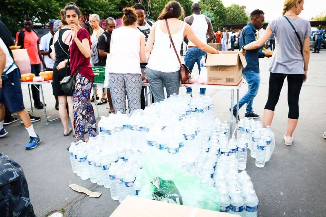 migrants canicule