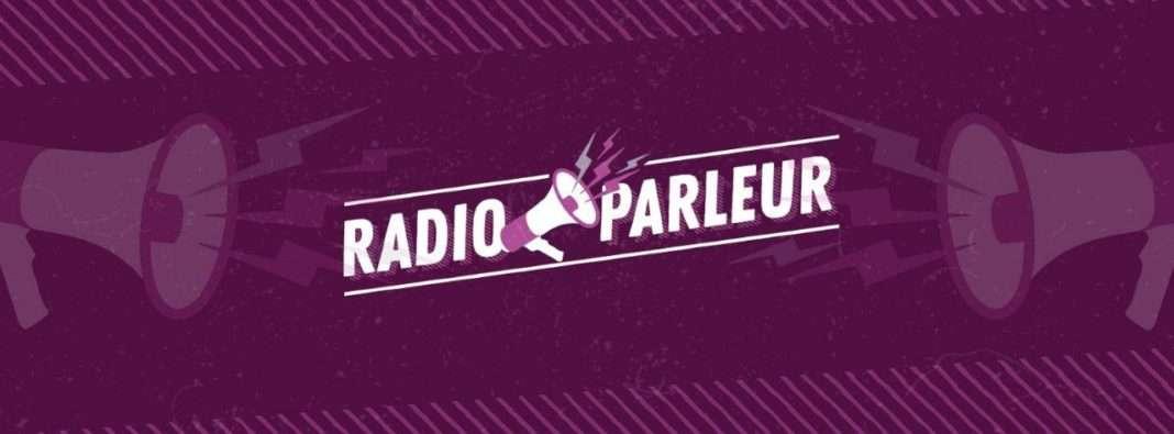 Logo Radio Parleur format bannière