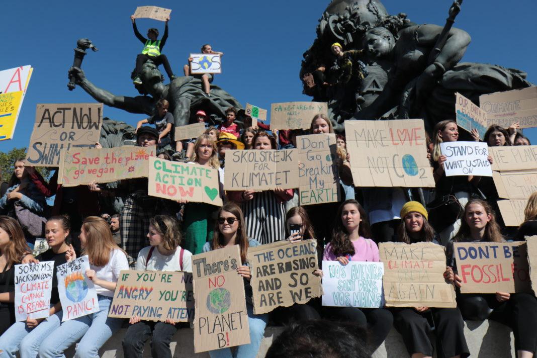 Grève pour le climat : « les lycéens se prennent en main et ça fait plaisir »