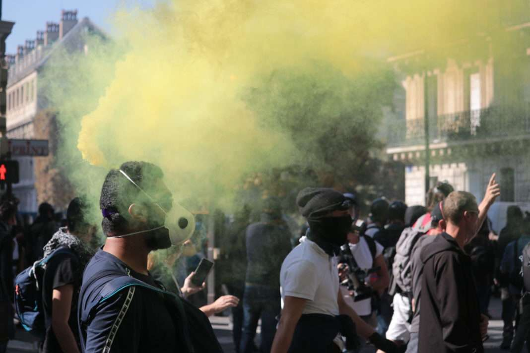 Manifestation Gilets Jaunes Paris