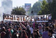 révolte Chili
