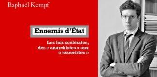 """Raphael Kempf avocat publie son livre """"Ennemis d""""état"""""""