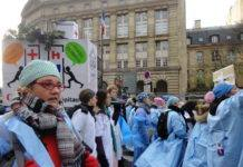 grève des personnels de l'hôpital14 novembre