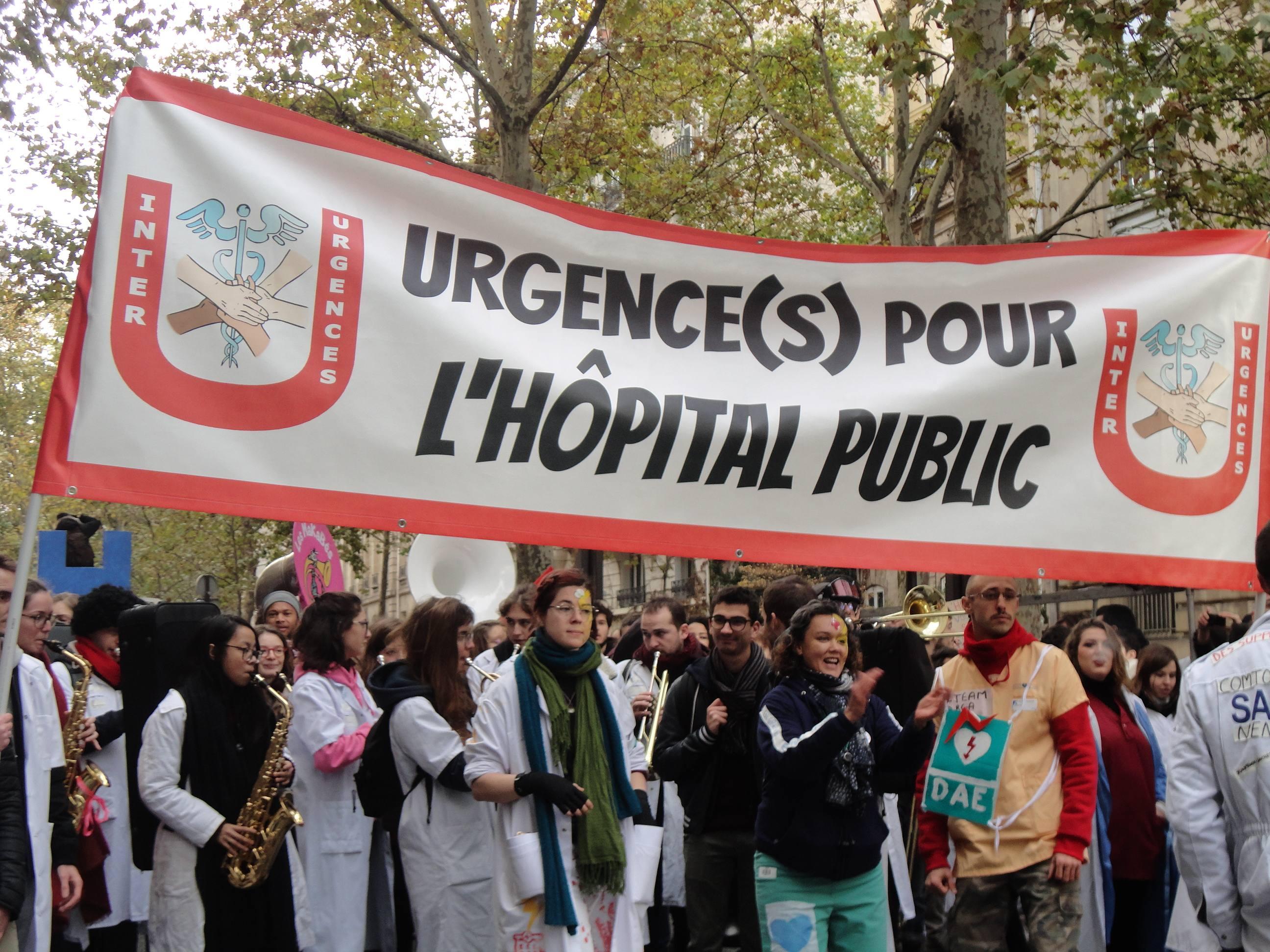 grève hôpitaux 14 novembre