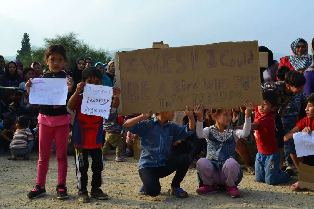 exilés Samos migrant migration