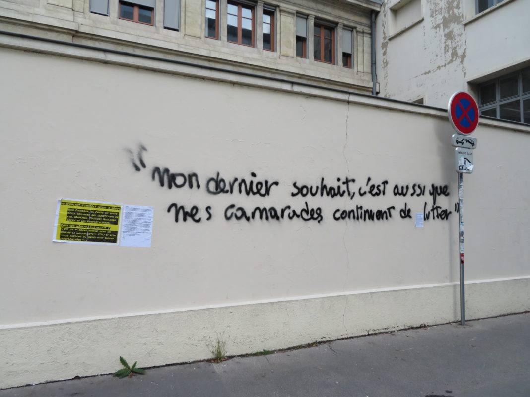 Etudiant immolé Lyon
