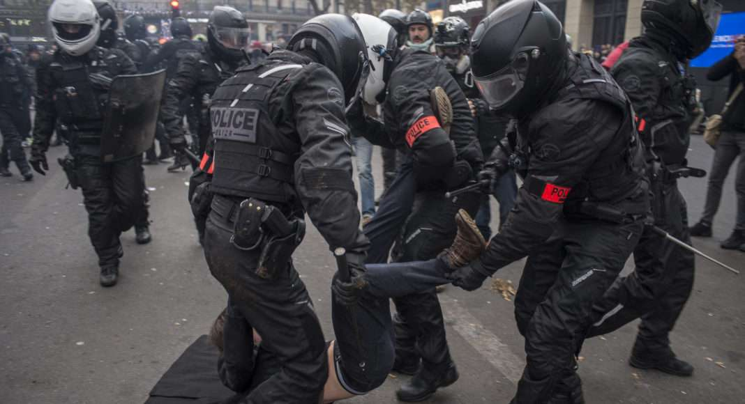 Manifestation 5 décembre violences policières 5 décembre