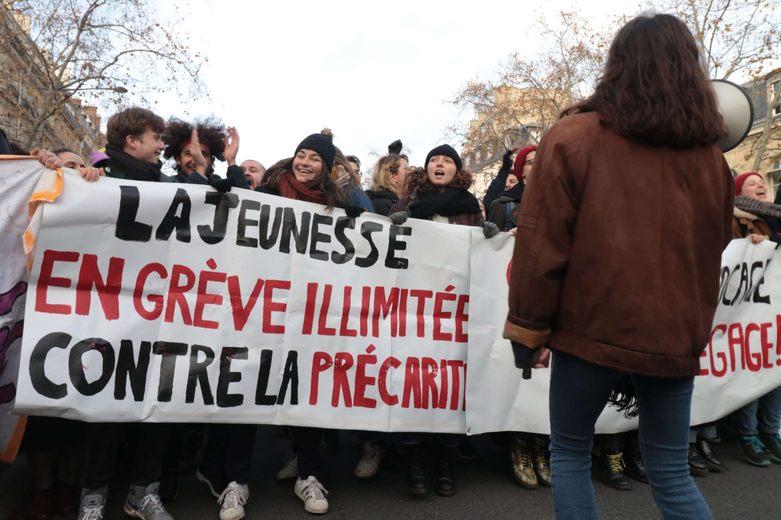 A Paris, le 10 décembre 2019. Photo Pierre-Olivier Chaput pour Radio Parleur.
