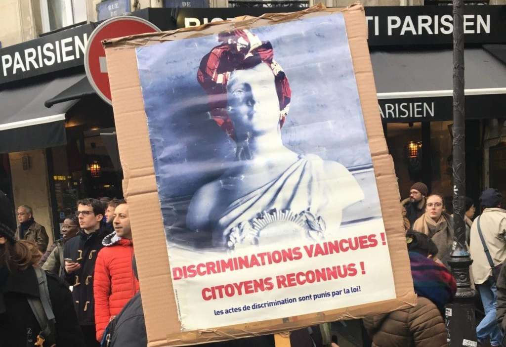 marche contre islamophobie