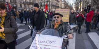 Manifestation 20 février contre le projet de réforme des retraites