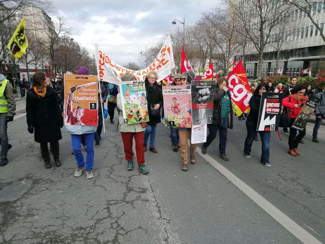 Retraites 20 février manifestation