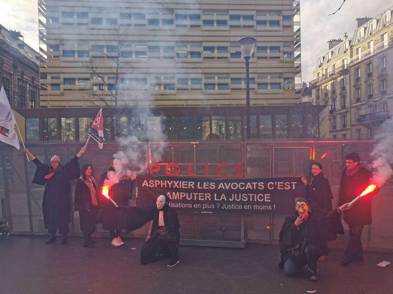 Retraites manifestation 20 février
