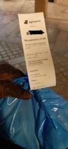 ticket livraison coronavirus