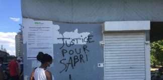 marche blanche Sabri