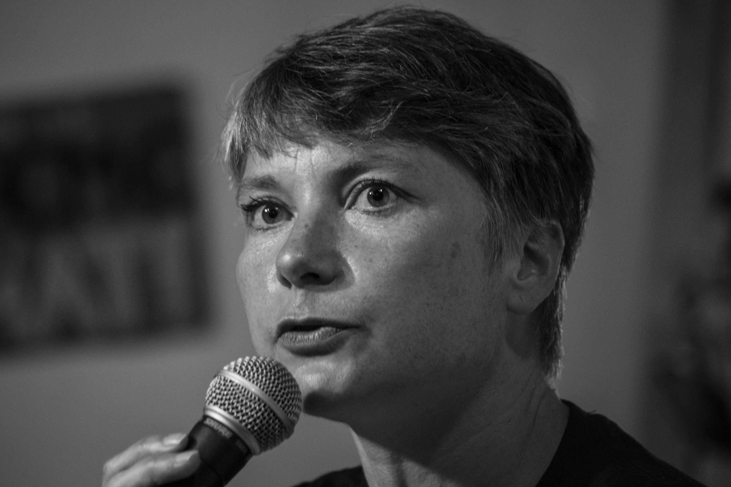 Jade Lindgaard Conférence La Base Alternatiba Collectif Adama Paris 2020 @Martin Lelievre pour Radio Parleur_15