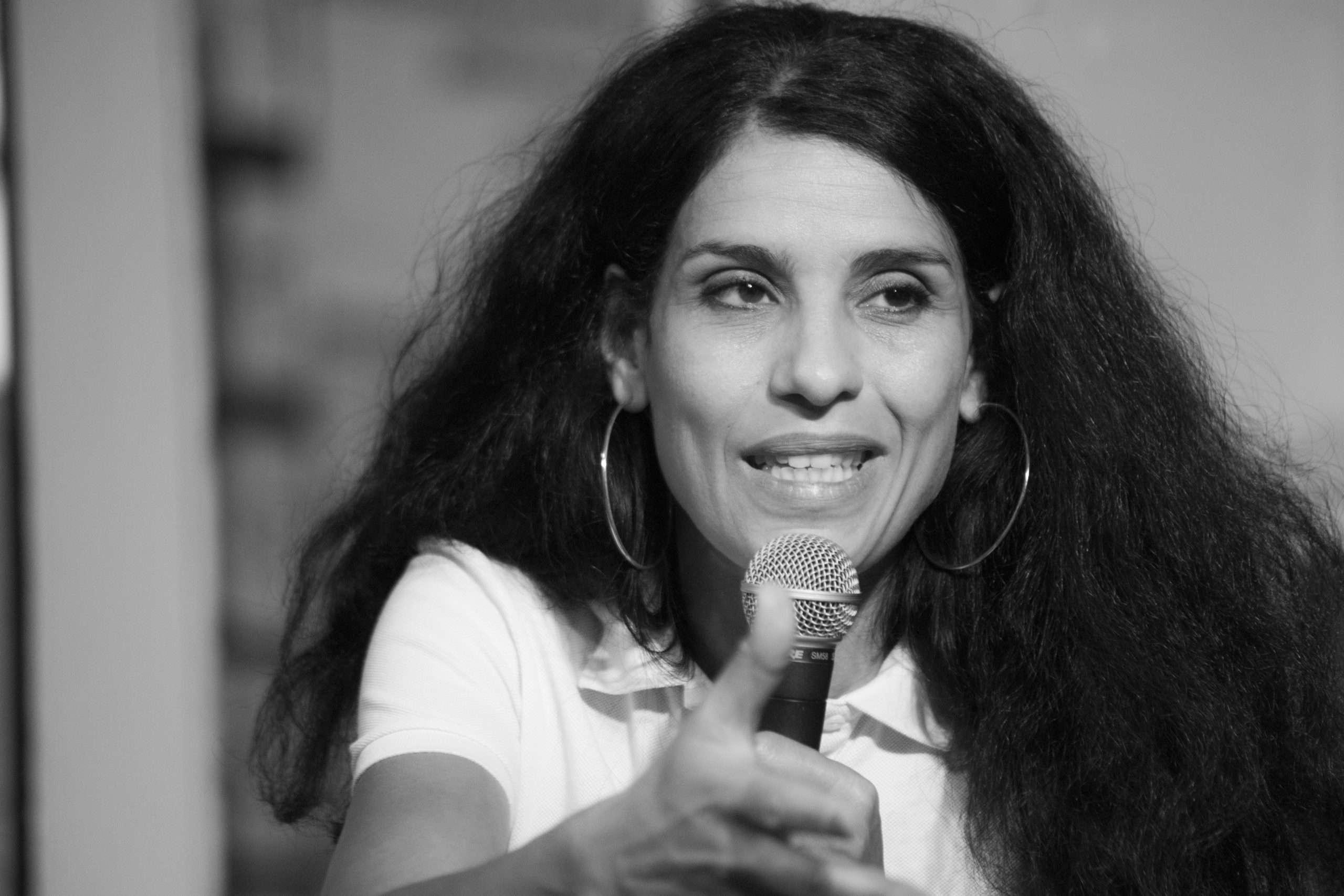 Fatima Ouassak Conférence La Base Alternatiba Collectif Adama Paris 2020 @Martin Lelievre pour Radio Parleur_17