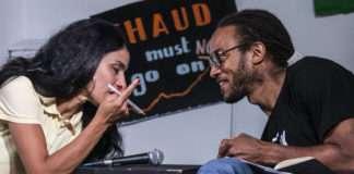 Fatima Ouassak et Malcolm Ferdinand Conférence La Base Alternatiba Collectif Adama Paris 2020 @Martin Lelievre pour Radio Parleur_2