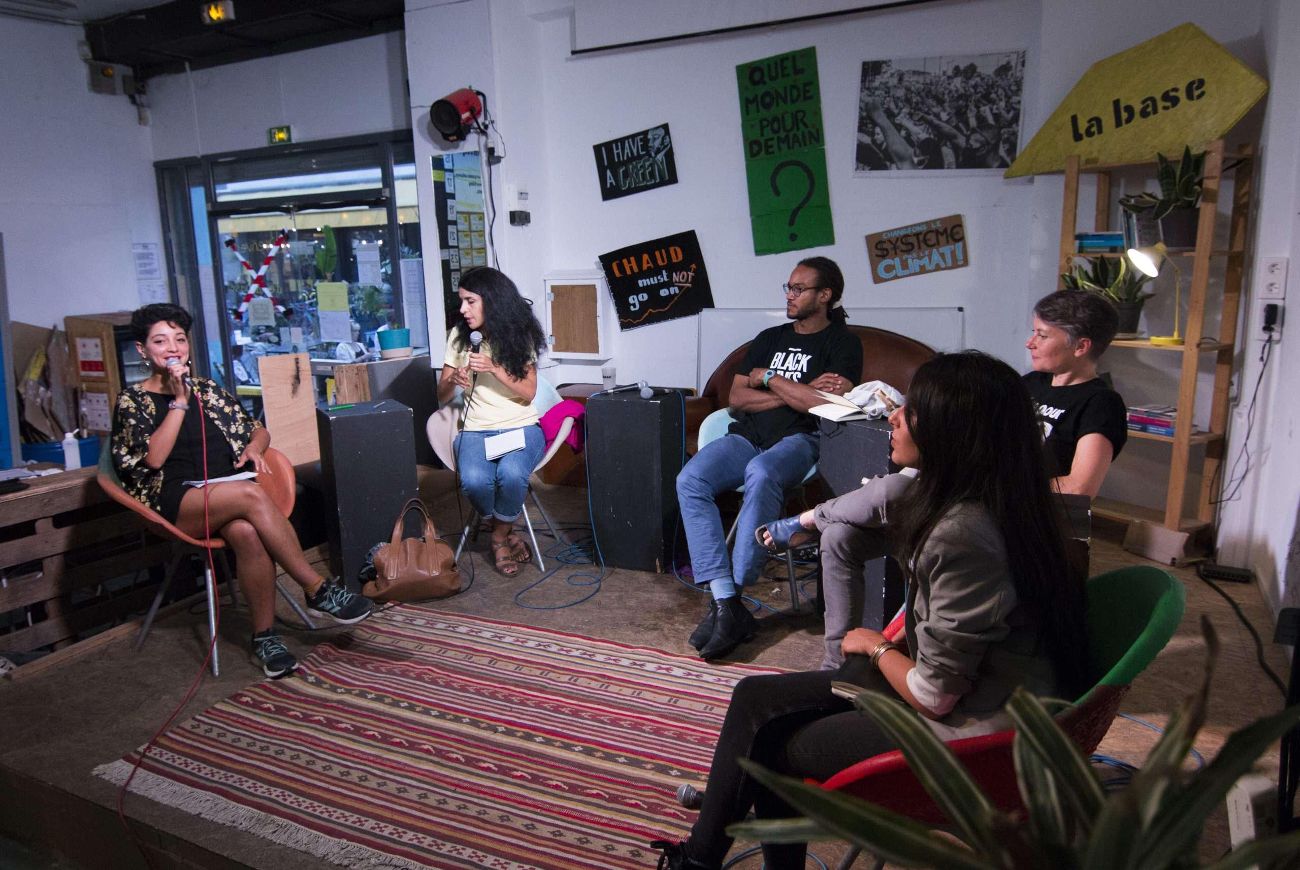 Conférence La Base Alternatiba Collectif Adama Paris 2020 @Martin Lelievre pour Radio Parleur_21