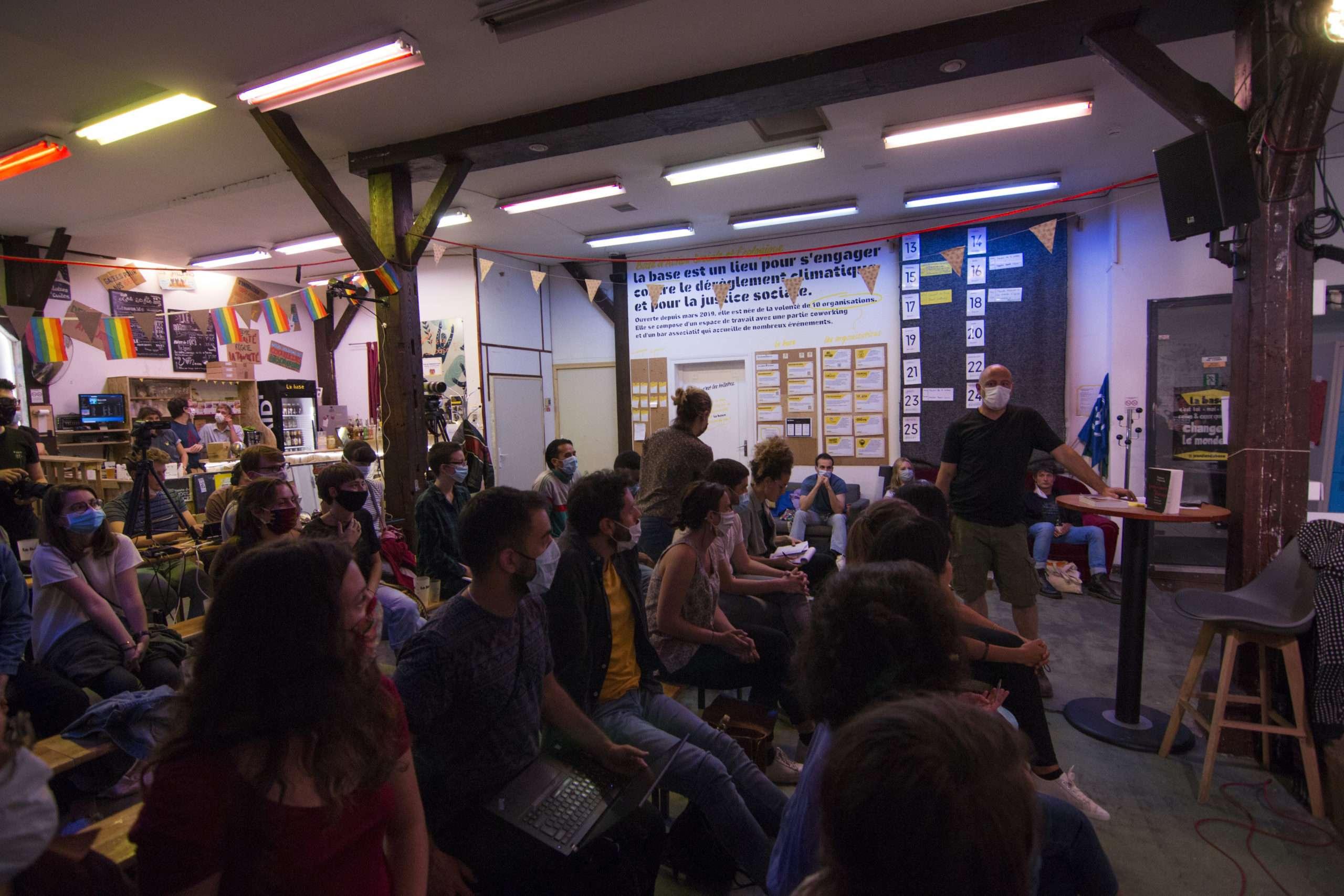 Conférence La Base Alternatiba Collectif Adama Paris 2020 @Martin Lelievre pour Radio Parleur_23