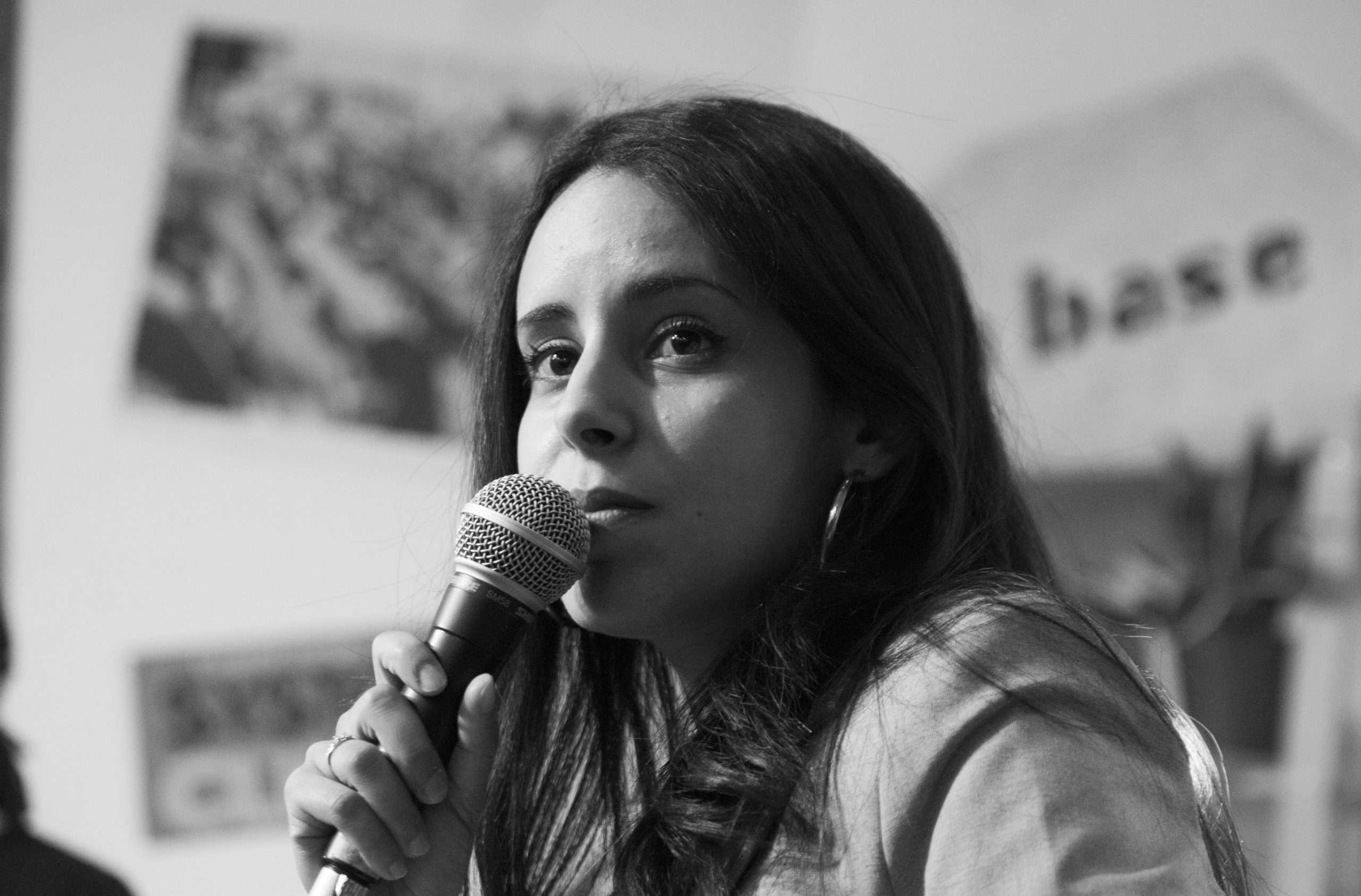 Teïssir Ghrab Conférence La Base Alternatiba Collectif Adama Paris 2020 @Martin Lelievre pour Radio Parleur_27