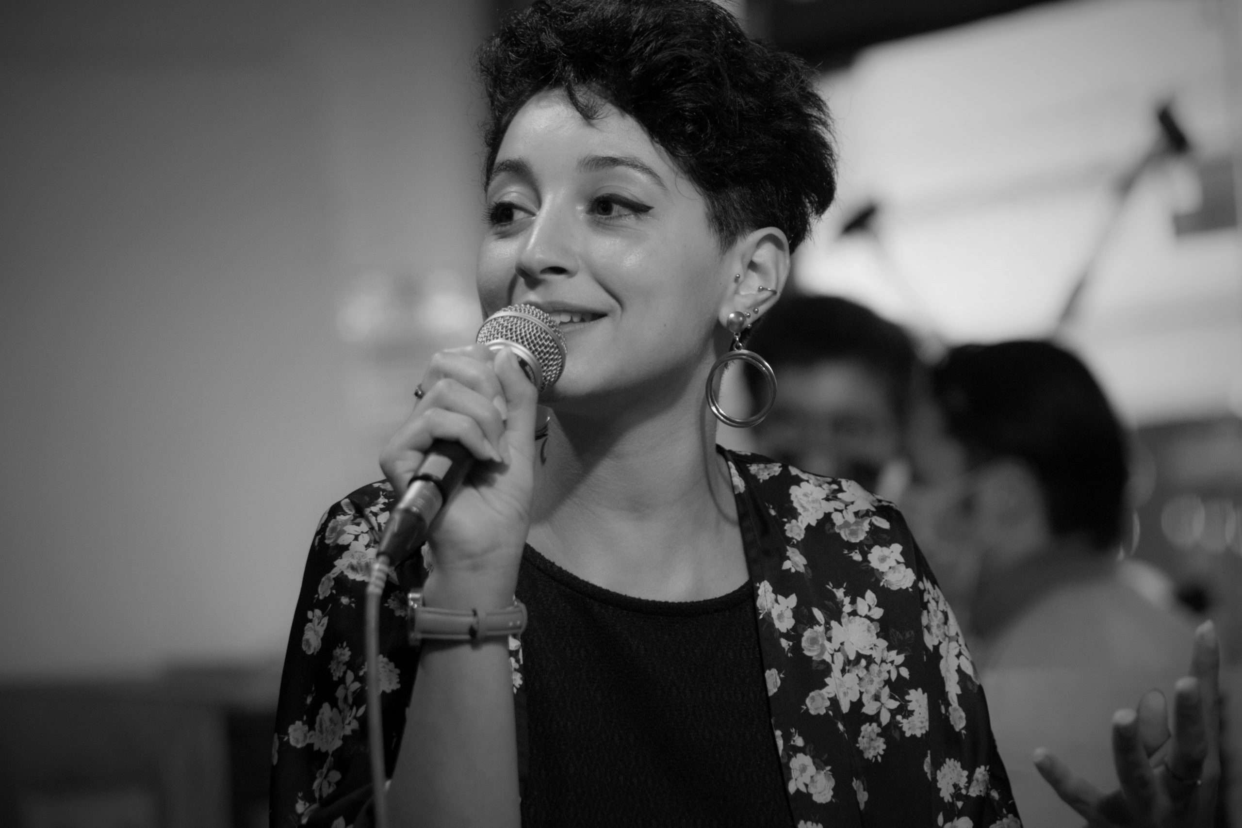 Renda Belmallem Conférence La Base Alternatiba Collectif Adama Paris 2020 @Martin Lelievre pour Radio Parleur_40