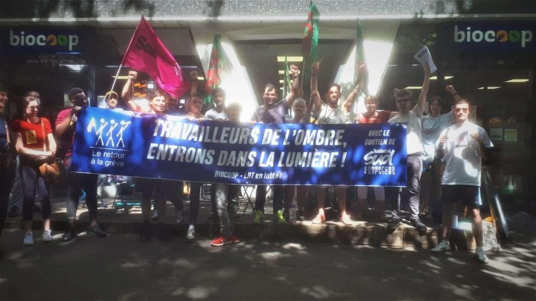 biocoop grève salariés covid retour à la terre