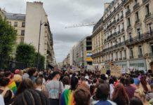 Défilé de la Pride alternative à Paris le 4 juillet 2020. Photographie : Justine Mascarilla pour Radio Parleur