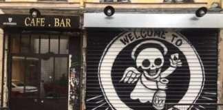 Bar le Saint Sauveur menilmontant antifa