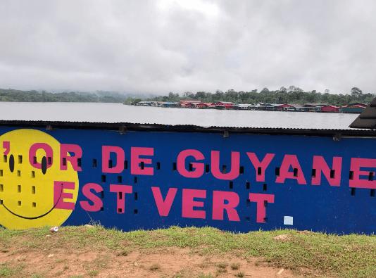 Mobilisation contre l'orpaillage en Guyane