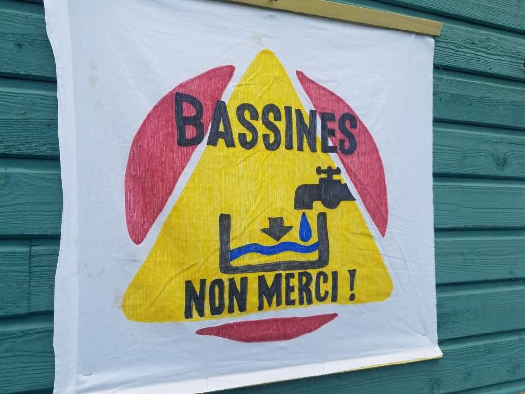 Bassines Non merci