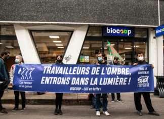 Biocoop grève