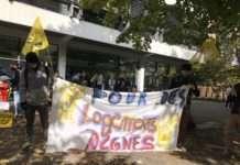 étudiants sans abris