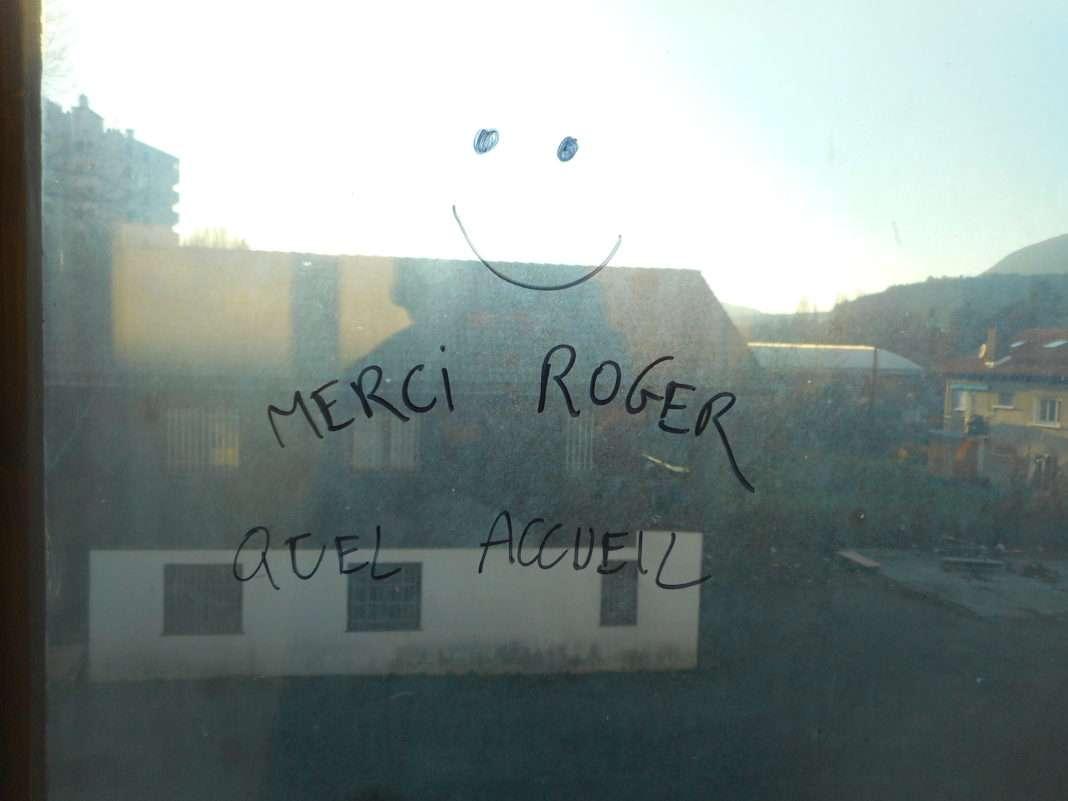 squat Roger migrants gap