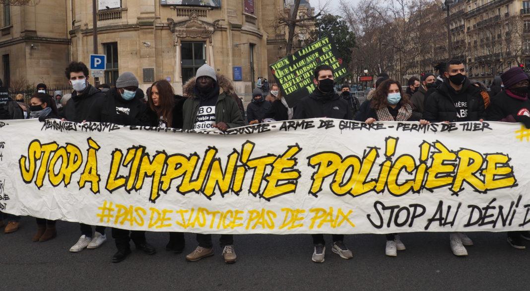 Marche Blanche Cédric Chouviat