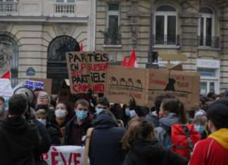 Manifestation précarité étudiante