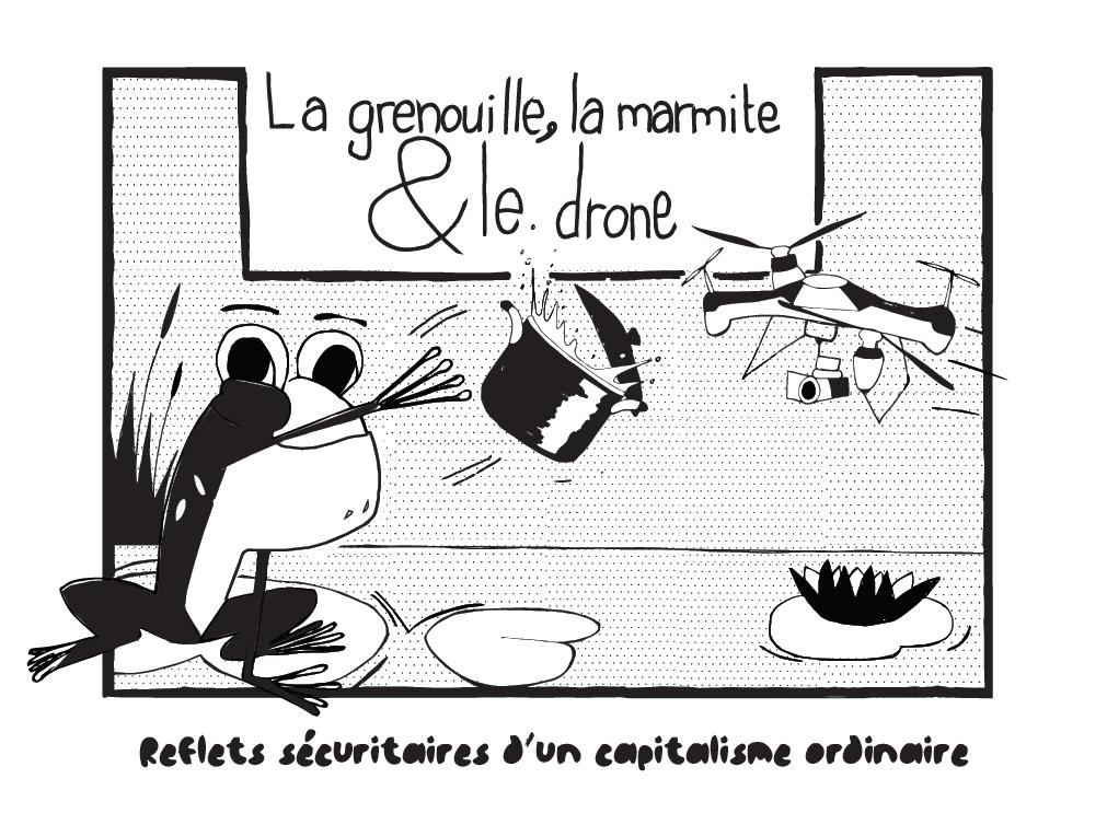 la grenouille la marmite et le drone