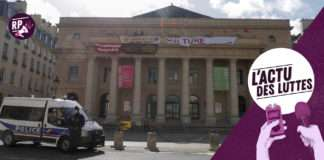Occupation théâtre Odéon