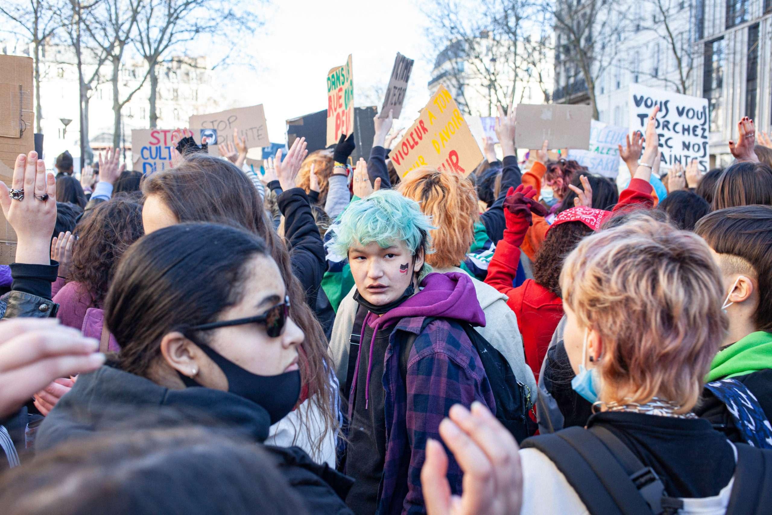 Du 6 au 8 mars, la colère féministe contre la violence patriarcale