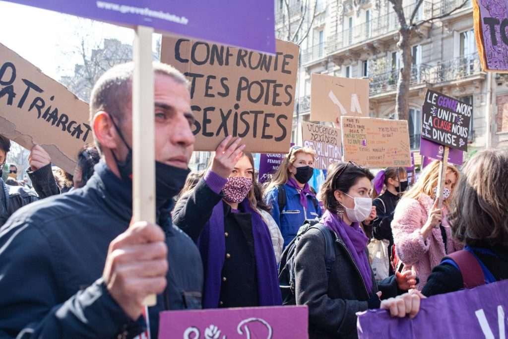 8 mars féministe paris