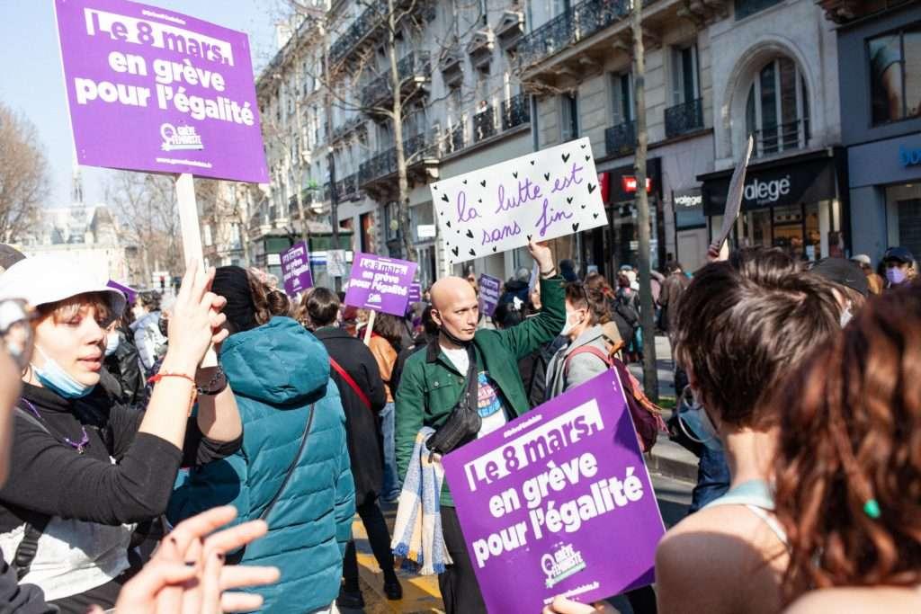 8 mars 2021 féministe paris
