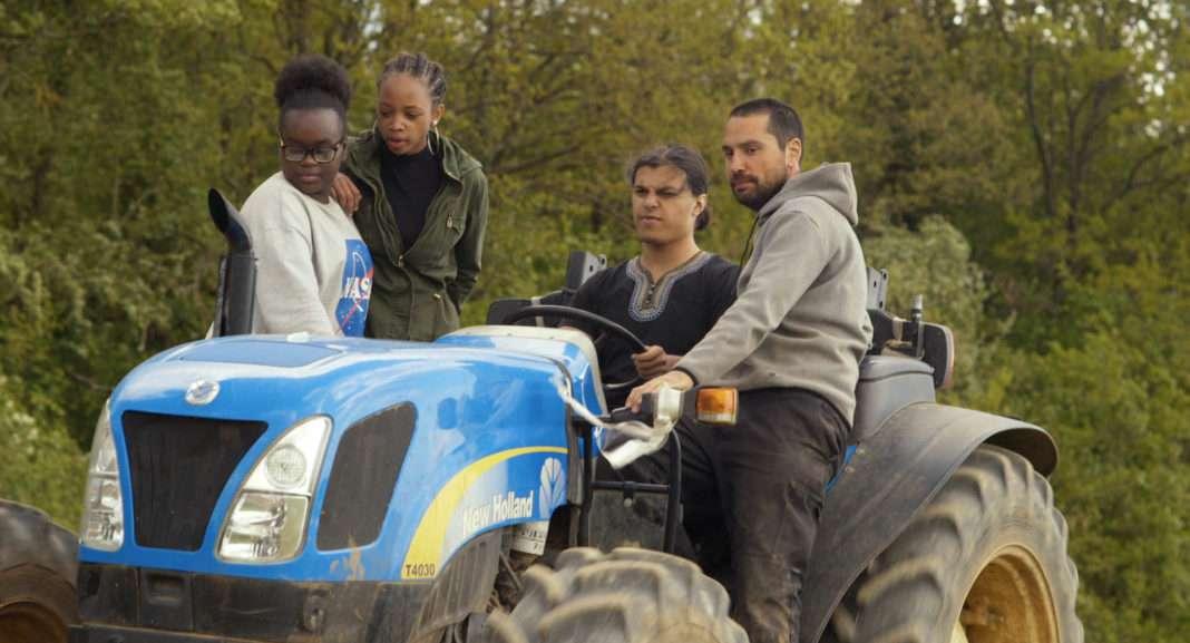 Scène du documentaire Douce France